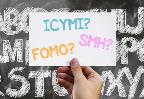 Millennial Speak: The ABC's of Acronyms