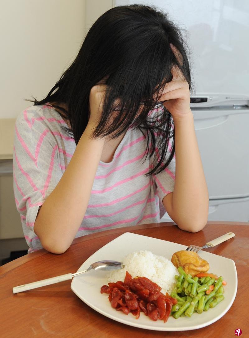 厌食症不容忽视。(档案照)